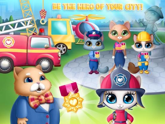 Kitty Meow Meow City Heroes screenshot 16
