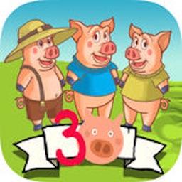 Interactive three little pigs