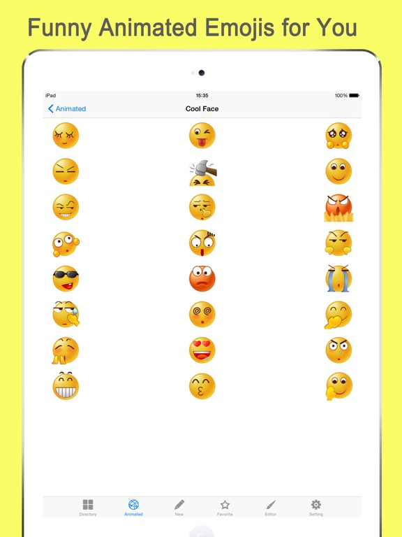 Emoji Keyboard Gif for Bitmoji-ipad-1