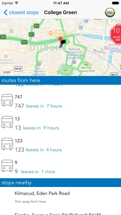 Dublin Public Transport screenshot-2