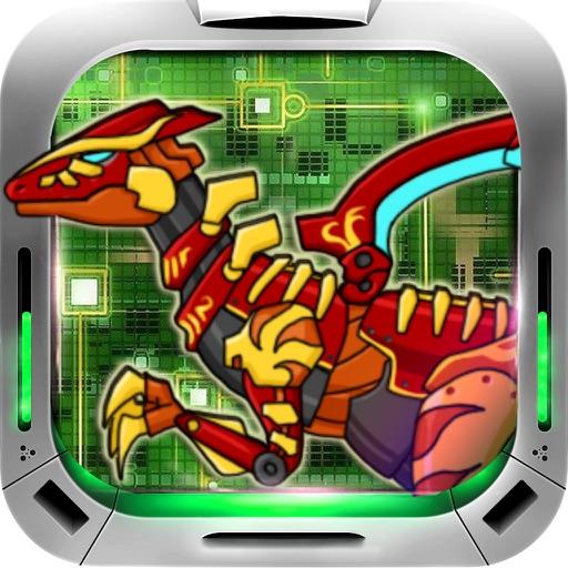 恐龙游戏-恐龙机械拼图