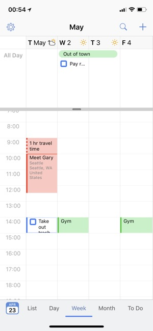 BusyCal Screenshot