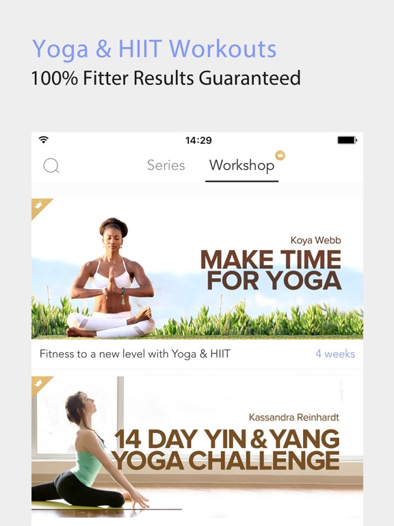 Daily Yoga - Yoga Fitness Plan Screenshot