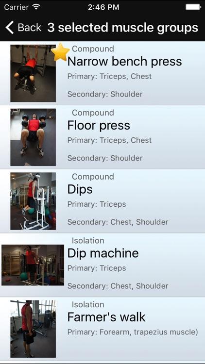 101+ Fitness Exercises screenshot-4