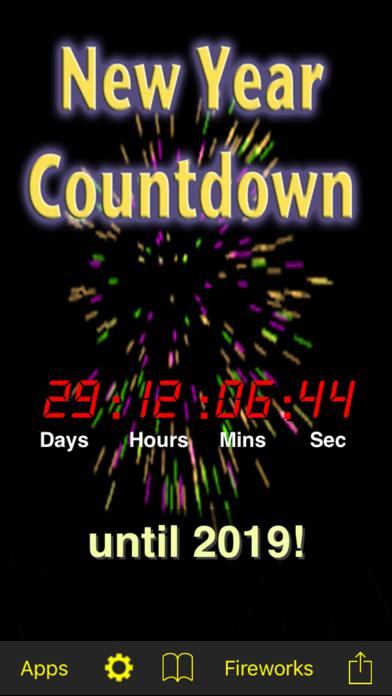 New Year Countdown screenshot one