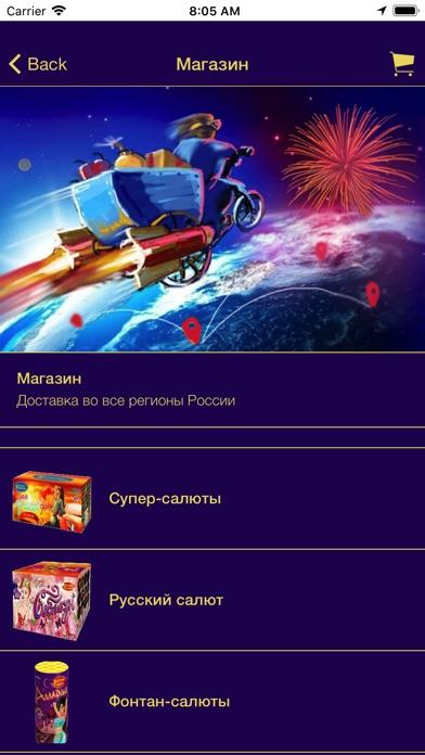 Русский Фейерверк screenshot