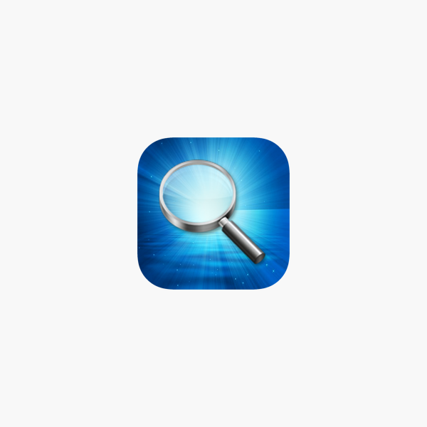 magnifying glass w light pro on the app store