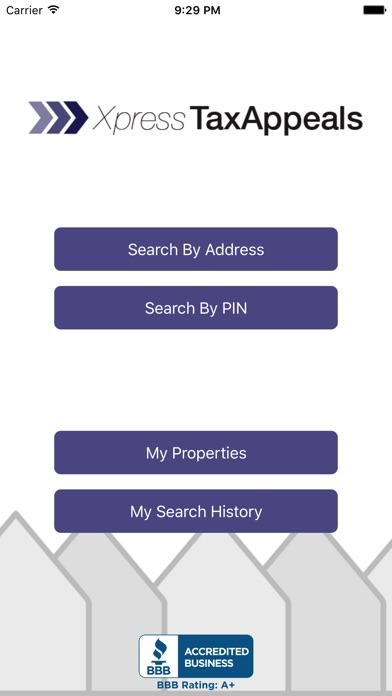 Xpress Tax Appeals Screenshot