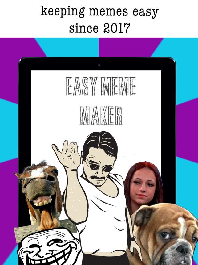 easy meme maker funny pics on the app store