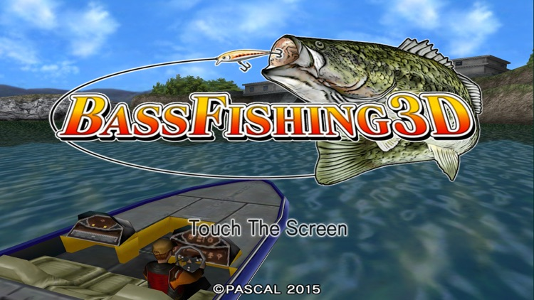 Bass Fishing 3D screenshot-0