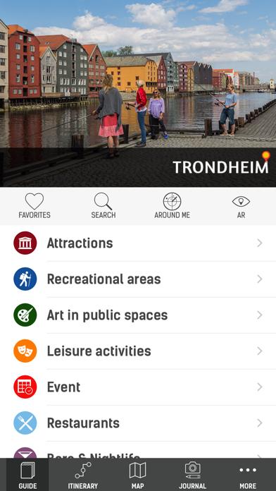 Official Trondheim Guide screenshot one