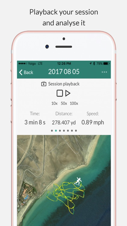 Swimming Tracker (Open Waters)