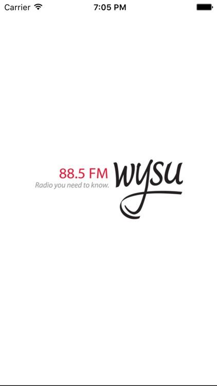 WYSU Public Radio App