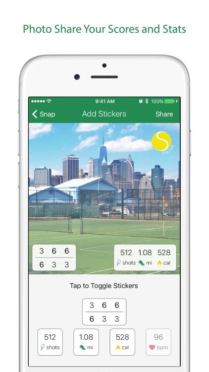 Swing Tennis Score Tracker