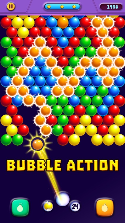 Bubble Puzzle Action