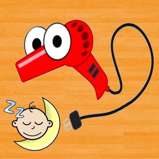 Hairdryer Sound For Baby Sleep iOS App