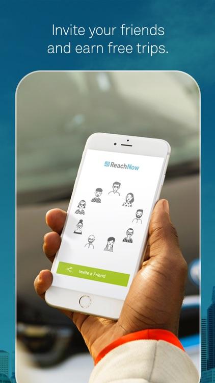 ReachNow Car Sharing by BMW screenshot-4