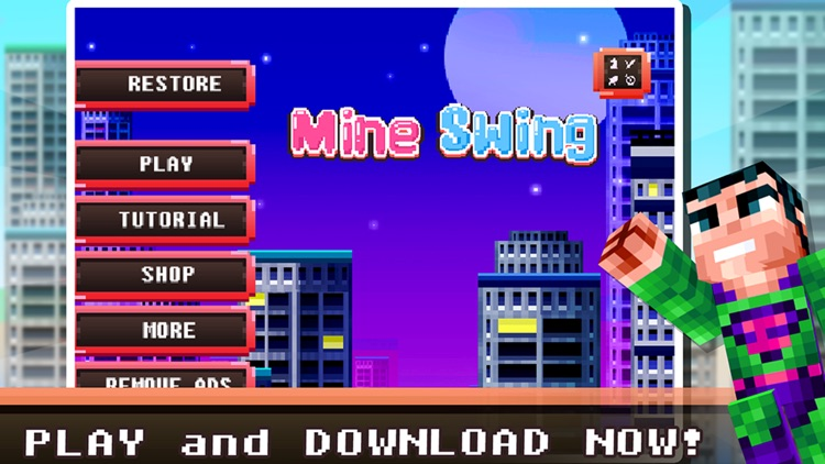 MineSwing: Games for Minecraft