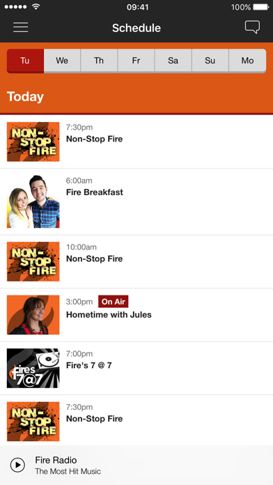Fire Radio screenshot three