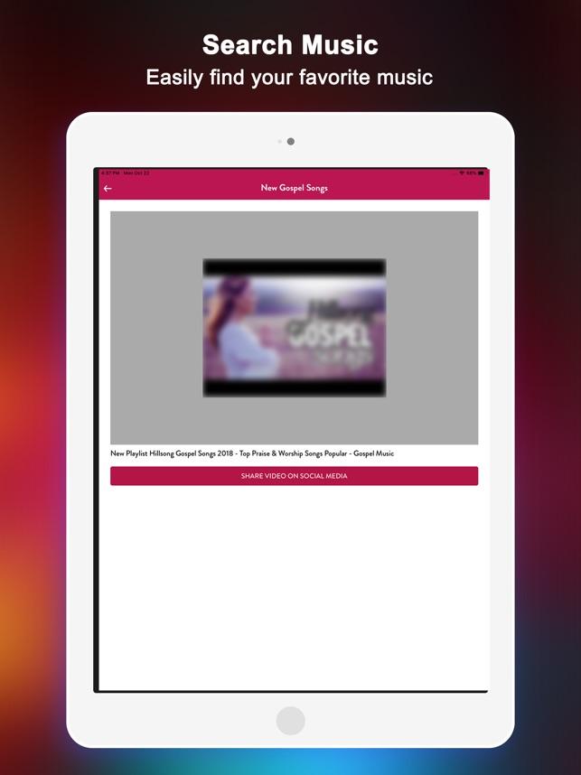 Gospel Music : Worship songs on the App Store
