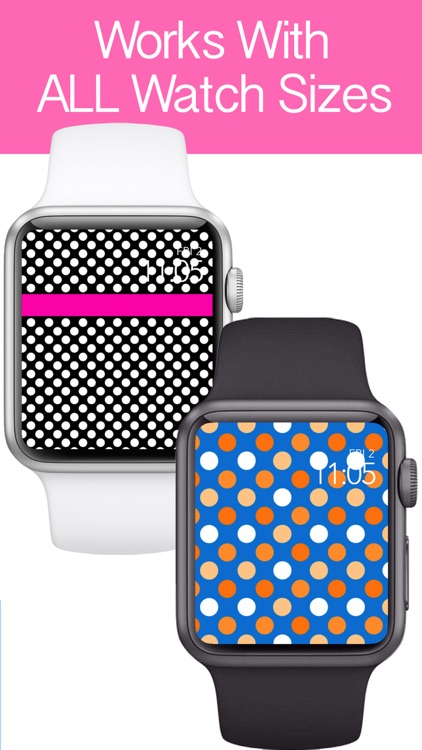 Polka Dot My Watch - iFace, Backgrounds, Wallpaper screenshot-3