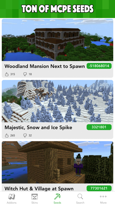 MCPE Planet - Addons, Maps, Skins for Minecraft PE for Windows