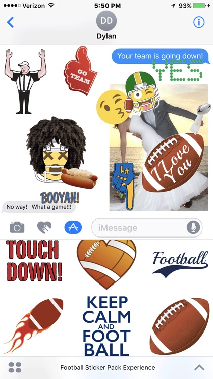 Football Sticker Pack Experience