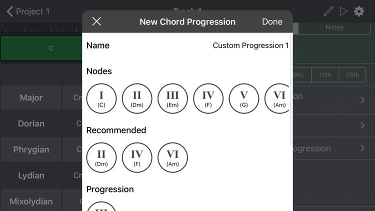 ChordBud - Chord Progressions screenshot-3