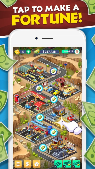 Tapitalist – Idle Money Miner screenshot 1
