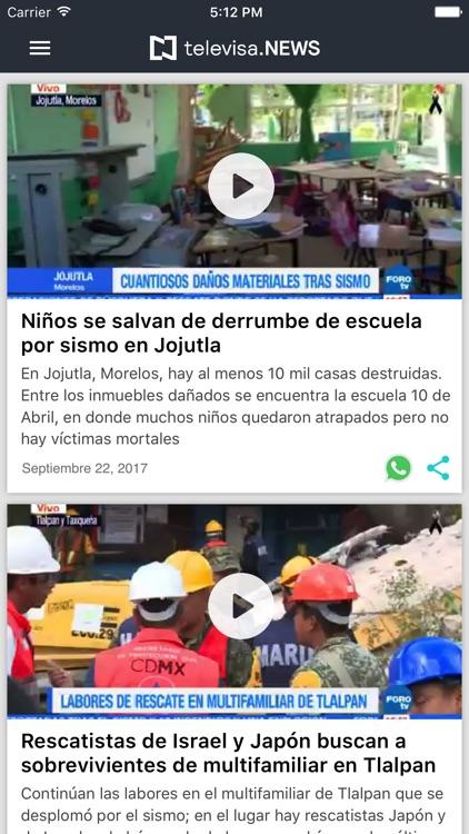 Noticieros Televisa screenshot-3