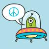 Alien & UFO Stickers