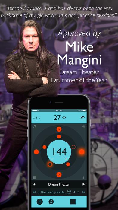 Screenshot for Tempo Advance - Metronom in Sweden App Store