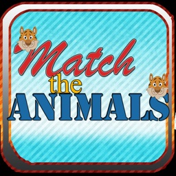 Match The Animals - Zoo