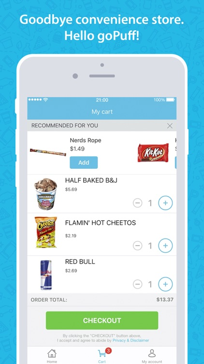 goPuff: Delivery of Snacks, Essentials & Ice Cream screenshot-4