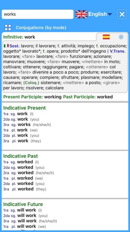 Dictionary Plus (Italian) screenshot-4