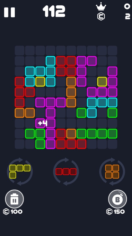 Neon Block Puzzle : Fill Board screenshot-7