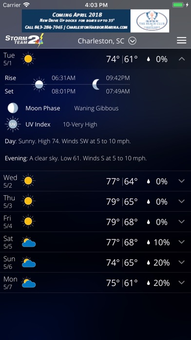 download WCBD Weather apps 0