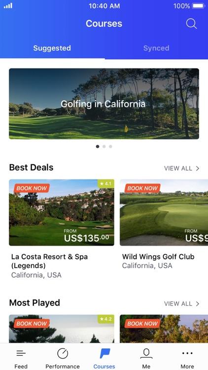 Hole19 Golf GPS & Scoring App