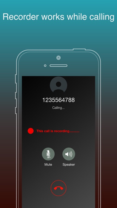 Screenshot #1 pour Automatic 2nd Call Recorder