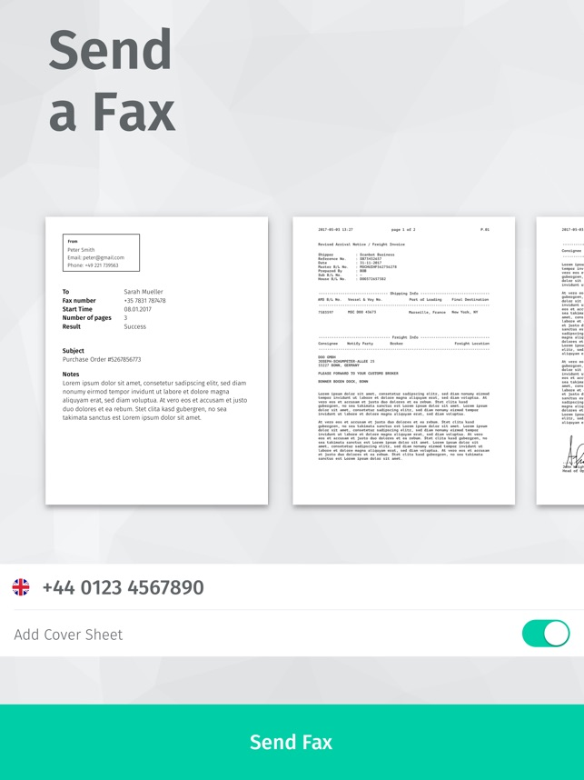Scanbot Pro: Scanner App & Fax Screenshot