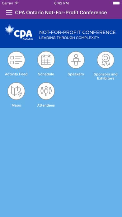CPA Ontario Events screenshot three