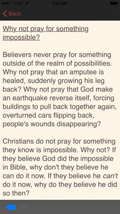Atheist Pocket Debater screenshot-3