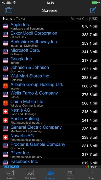 StockMarkets for iPhone screenshot-4