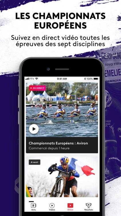 France tv sport: actu sportive screenshot-0