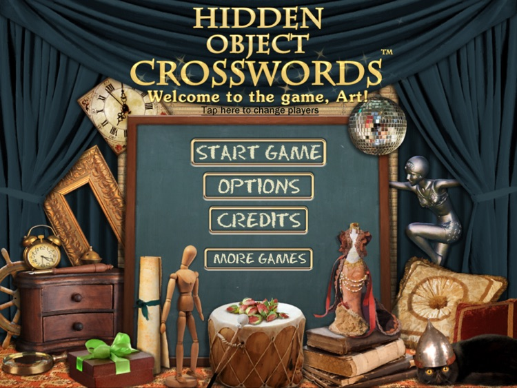 Hidden Object Crosswords HD