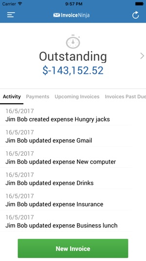 Invoice Ninja On The App Store - Invoice ninja
