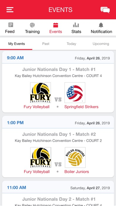 Screenshot for SportGrit Volleyball in United States App Store