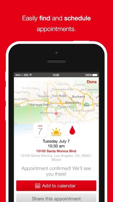 Blood Donor American Red Cross Screenshot