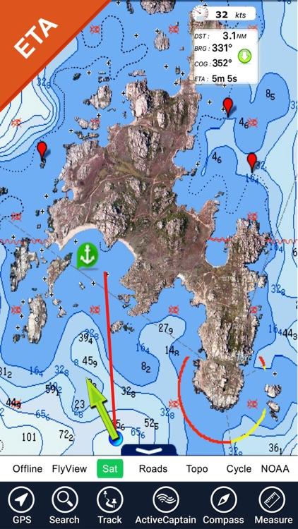 Boating USA HD Nautical Charts screenshot-4