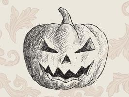 Halloween Sketch Elements